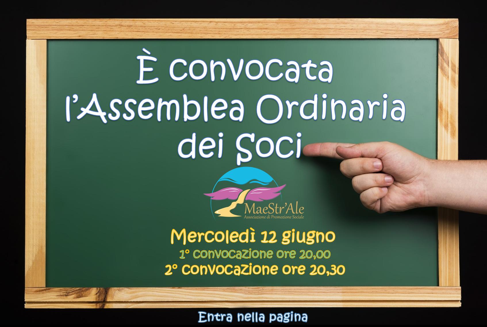 Assemblea Ordinaria 12 giugno 2019