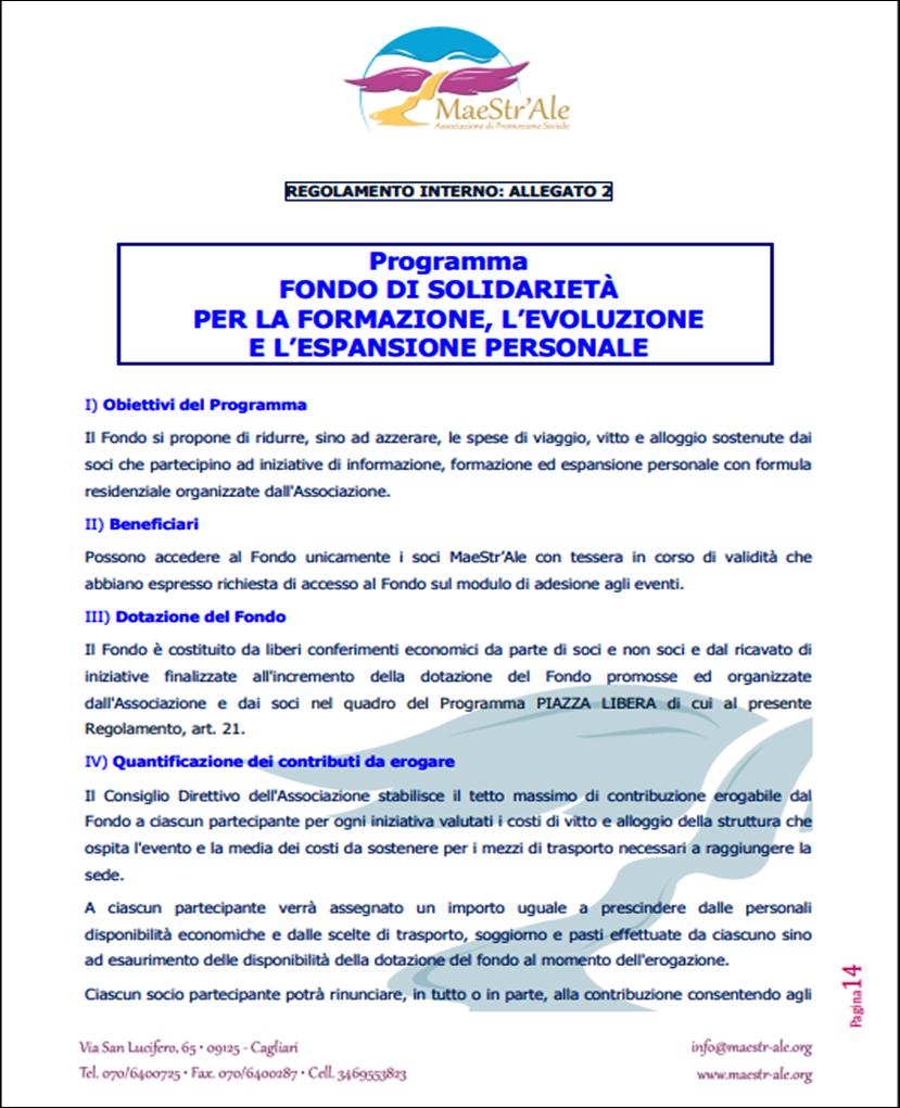 Regolamento Interno -ALLEGATO 2 pag.1
